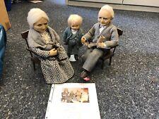Edda Thormann Vinyl 3 Puppen bis 44 cm. Top Zustand