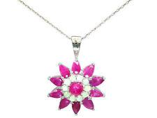 "16 - 17.99"" White Gold I1 Fine Diamond Necklaces & Pendants"