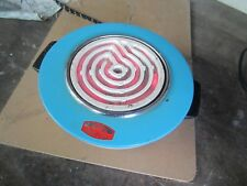Antique Electric Hot Plate Spiral Cord Burner-Mini-Stove-top WorkTested  Orshiki