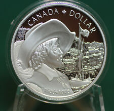 2008 Canada Quebec city silver dollar proof finish - coin only