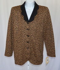 07cd959faf6 Leopard Animal Print Plus Size Coats   Jackets for Women for sale