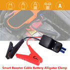 365cm Car Jump Starter Smart Booster Cable Battery Alligator Clamp Led Indicator