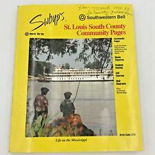 1998 1999 St Louis MO SOUTH COUNTY COMMUNITY Yellow Pages Southwestern Bell BK0