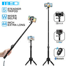 Extendable Selfie Stick Bluetooth Tripod Mount for iPhone 7 8 8X XR XS Max GoPro