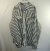 Banana Republic Mens Long Sleeve Casual Oxford Dress Shirt Slim Fit EXTRA LARGE