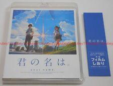 New Your Name Kimi no Na wa Standard Edition Blu-ray Sticker Film Bookmark Japan