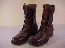 """ORIGINAL, RARE & VG+ Cond. """"Tanker"""" Boots Made By Famous Dehner Company"""