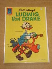 LUDWIG VON DRAKE #2 FN (6.0) DELL COMICS WALT DISNEY RARE JANUARY-FEBRUARY 1962