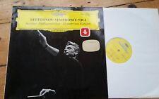 DG 138 803 - BEETHOVEN - Symphony No 4 - KARAJAN Berlin PO - Ex Con LP Record