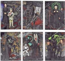 STAR WARS HERITAGE WAVE 2 ETCHED FOIL 6 CARD SET     BY  TOPPS