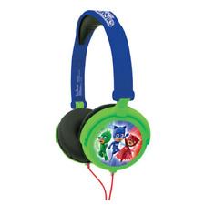 Lexibook PJ máscaras de auriculares estéreo plegable con limitador de volumen-Azul-HP015PJM