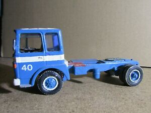 205R Rare Kit Artisanal Base Solido Saviem SM300 V8 Turquoise 1:50 L 13 cm