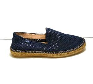 VISCATA Barcelona Mesh Canvas Portbou Blue EUR 47 US 13.5 Shoes Espadrilles