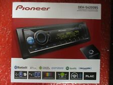 NEW PIONEER DEH-S6200BS SINGLE DIN CD MP3 USB PLAYER BLUETOOTH SiriusXM READY