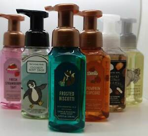 New Bath And Body Works Gentle Foaming Hand Soap - Winter Updated Stock 2021