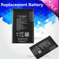 2X Replacement Li-ion Battery 1020mAh 3.7V 3.8 wh for Nokia BL-5C Rechargeable R