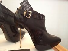 Versace Blade Ankle Boots 7.5 US