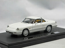 Milena Rose 1990 Alfa Romeo Spider Serie 4 Ultima Hardtop weiss 1/43 Limitiert