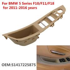 Left Front Door Handle Window Switch Panel For BMW 5 Series F10/F11/F18 2011-16