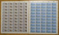 Bund 1321 - 1322 postfrisch Bogen Satz LUXUS Formnummer 1 BRD CEPT 1987 MNH