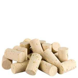 50 / 250 de corchos de vino nuevo / tapones de botella de corcho natural tapones