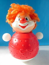 Old Russian Carlson Celluloid Plastic Roly Poly Musical Ding Toy Very Rare