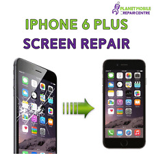 iPhone 6 Plus 5.5 Black  White Replacement LCD & TOUCH SCREEN Repair Same day