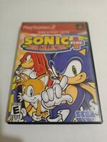 Sonic Mega Collection Plus (Sony PlayStation 2, 2004)  complete