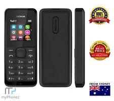 Nokia 105 Black, FM Radio, Slim with Color Display Senior Mobile Dual Sim