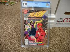Flash 5 cgc 9.8 DC 1987 1st appearance of Speedy McGee MINT WHITE pgs TV show