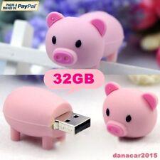 PEN DRIVE PENDRIVE DE UN CERDITO CERDO ROSA 32GB 32 GB MEMORIA USB (4 8 16 64GB)
