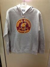 Central Michigan Chippewas hooded Sweatshirt Size Small Heather Gray