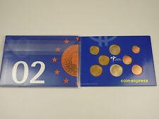 *** EURO KMS NIEDERLANDE 2002 Beatrix Fleur de Coin Hollland Netherlands Set ***