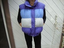 HERMAN'S WORLD OF SPORTING GOODS DOWN VEST SIZE M in EUC