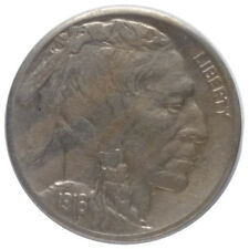 1916-S 5c Buffalo Nickel A1 - 3/4 Horn and Beautiful Devices