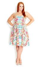 City Chic Summer Women's Knee Length Dresses