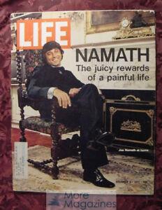 LIFE magazine November 3 1972 Nov 72 11/3/72 JOE NAMATH DON IMUS