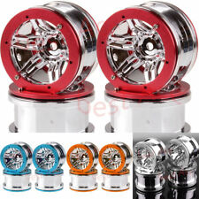 "4PCS Rock Crawler Car 2.2"" Beadlock Wheel Rims SCX10 D90 CC01 HSP RC 1/10 6007S"