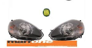 COPPIA FARI FANALI ANT PARB/ NERA Sx E DX  H4 7 PIN FIAT GRANDE PUNTO 05 >08