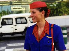 AIR LITTORAL AIR FRANCE STEWARDESS CABIN CREW FLIGHT ATTENDANT UNIFORM 1990s