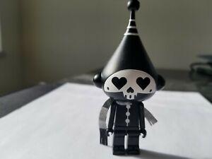 Dalek Black Skull Ice Bot - Kidrobot Designer Vynil Art Figure