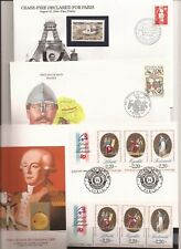 FRANCE- 9 over sized philatelic items at a low price-French Revolution