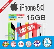 Apple iPhone 5C 16G Blue Smartphone 4G as NEW UNLOCK FREE Shipping/Gift WARRANTY