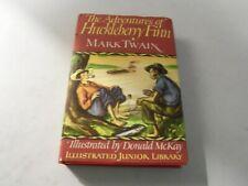 The Adventures of Huckleberry Finn by Mark Twain - Illustrated Junior Library