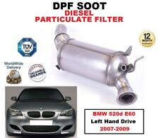 DPF DIESEL SOOT PARTICULATE FILTER for BMW 520d E60 Left Hand Drive 2007-2009
