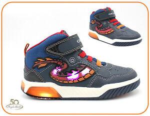Inconsistente Semejanza Empotrar  Geox Boy LED Shoes for Boys for sale | eBay
