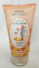 Sarah Michaels GINGER CITRUS Body Lotion Vitamin Rich 4.75 oz/140mL New RARE