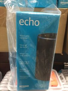 BRAND NEW Sealed Amazon Echo (2nd Gen) Smart Speaker with Alexa - Charcoal