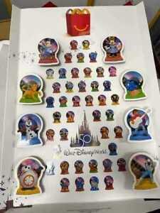 2021 McDONALD'S Disney's 50th Anniversary Disney World HAPPY MEAL TOYS Or Set