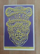 BG 16 Mindbenders Chocolate Watchband Wes Wilson Fillmore Postcard